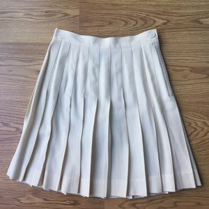 VINTAGE Rayon/Wool Blend Pleated Skirt size 23/24